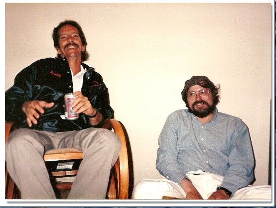 Craig & Dennins hangingout